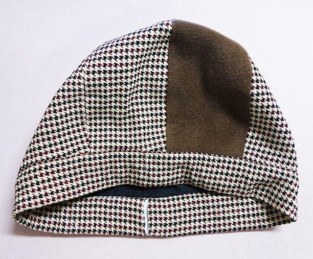 ゴムを入れた帽子
