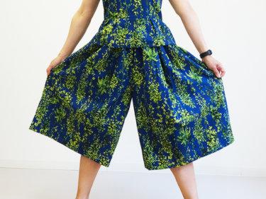 スカートみたいな超ワイドパンツの作り方