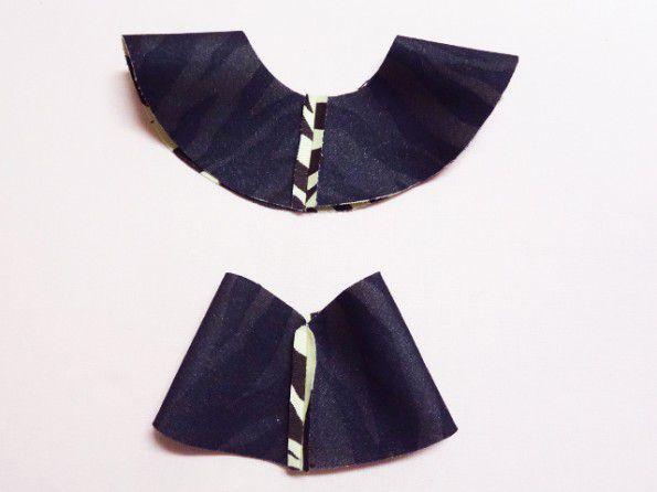 縫い代をアイロンで割る