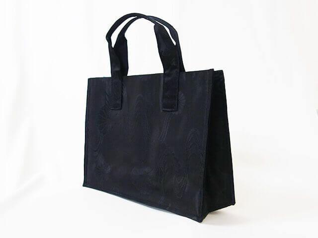帯リメイクバッグ 喪服用バッグ