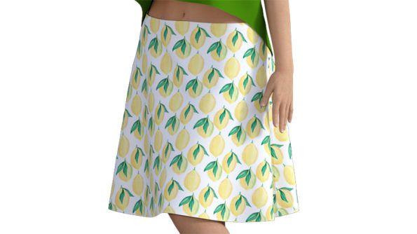 フレアースカートの作り方
