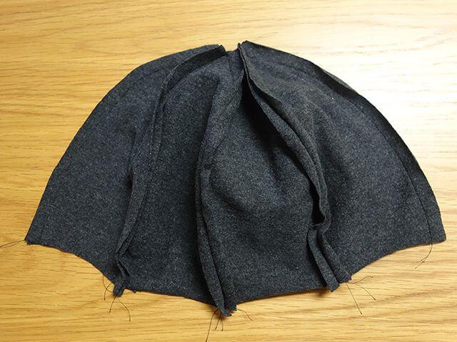 帽子の裏地