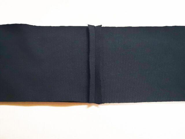 ウエストベルトの縫い代を開く