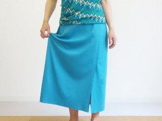 型紙なしのニットスカート
