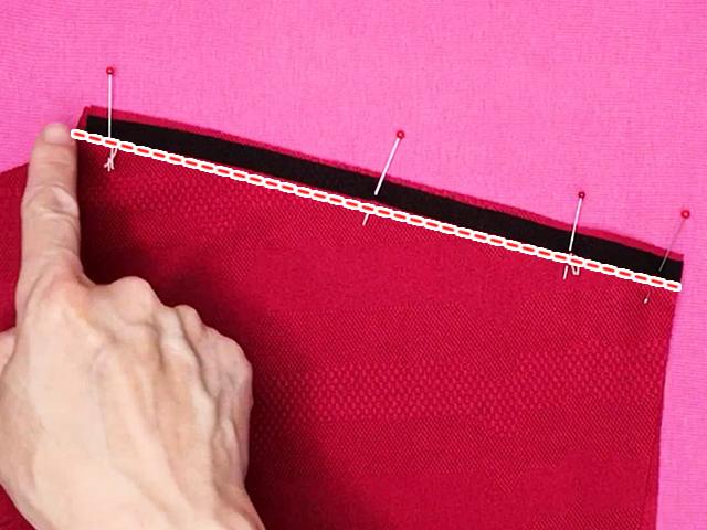 肩の縫い方