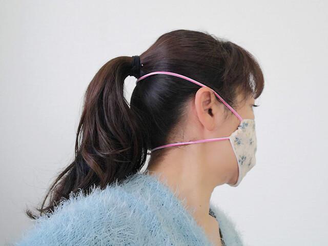 耳が痛くならないマスク