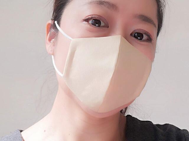 コーヒーフィルター簡単マスク