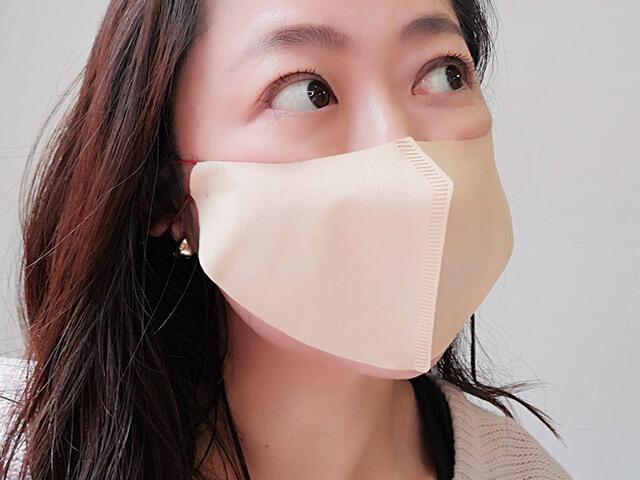 鼻先のあるマスク