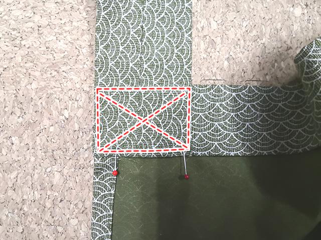 クロス縫い