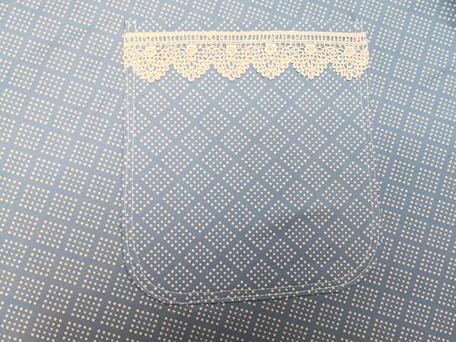 角丸パッチポケットの縫い方