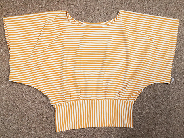 着物スリーブトップスの作り方