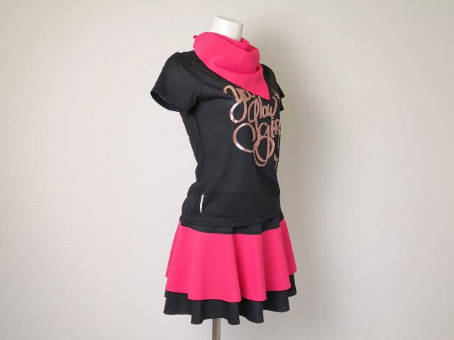 ピンクのパデルウェア